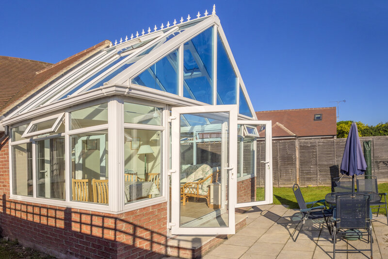 Glass Conservatory in Walsall West Midlands